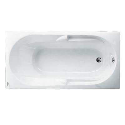 Bồn tắm xây không chân yếm Caesar AT0270