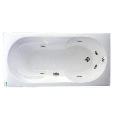 Bồn tắm massage không chân yếm Caesar MT0350