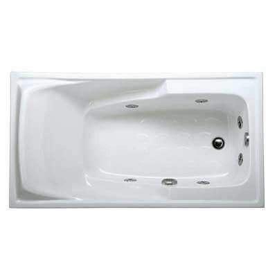 Bồn tắm massage không chân yếm Caesar MT0460