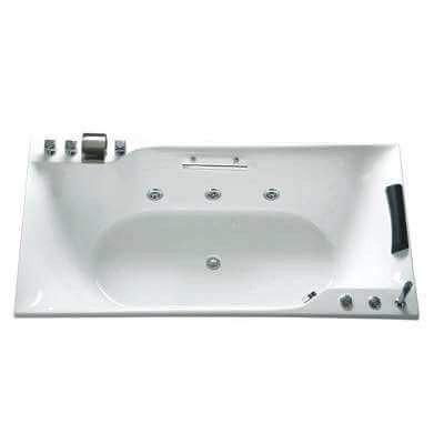 Bồn tắm massage không chân yếm Caesar MT0870