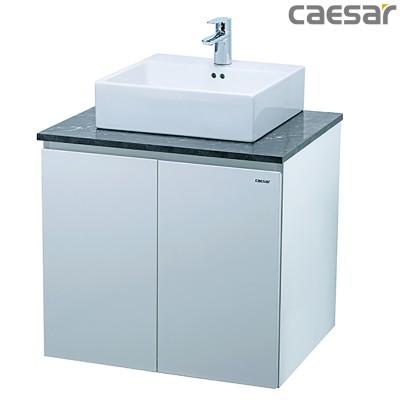 Chậu rửa Lavabo Caesar L5261 + Tủ lavabo EH46001A