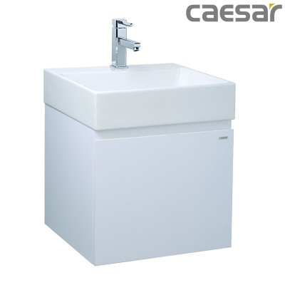 Chậu rửa Lavabo Caesar LF5253 + Tủ lavabo EH05253A