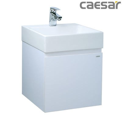 Chậu rửa Lavabo Caesar LF5255 + Tủ lavabo EH05255A