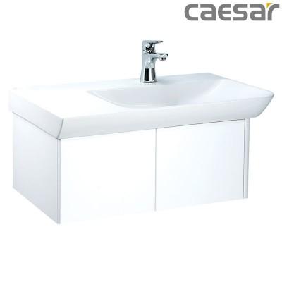 Chậu rửa Lavabo Caesar LF5374 + Tủ lavabo EH05374A