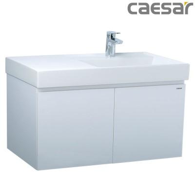 Chậu rửa Lavabo Caesar LF5384 + Tủ lavabo EH05384A