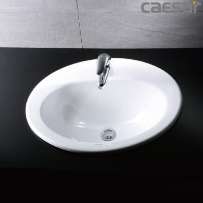 Chậu rửa Lavabo dương vành Caesar LF5018