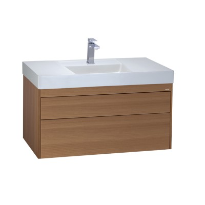 Chậu rửa Lavabo Caesar LF5386 + Tủ lavabo EH05386DWV