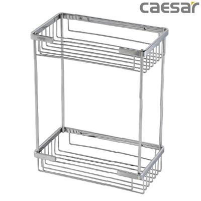 Kệ inox đựng mỹ phẩm phòng tắm Caesar ST859