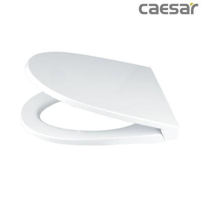 Nắp bồn cầu đóng êm Caesar MU235