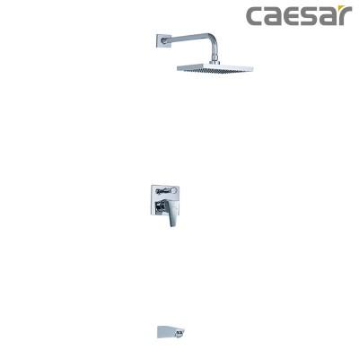 Vòi sen cây tắm đứng âm tường Caesar BS644