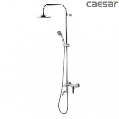 Vòi sen cây tắm đứng nóng lạnh Caesar S378C