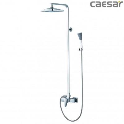 Vòi sen cây tắm đứng nóng lạnh Caesar S648C