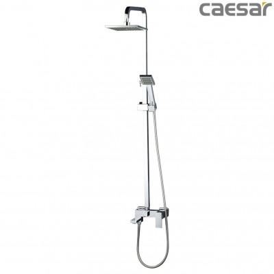 Vòi sen cây tắm đứng nóng lạnh Caesar S668C